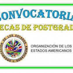 CONVOCATORIA DE BECAS OEA PARA POSTGRADOS