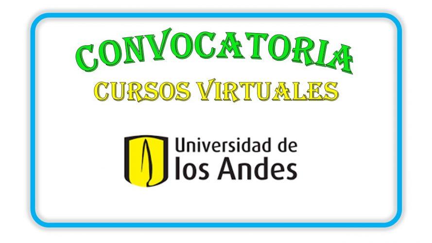 Cursos virtuales impartidos por la universidad de los andes